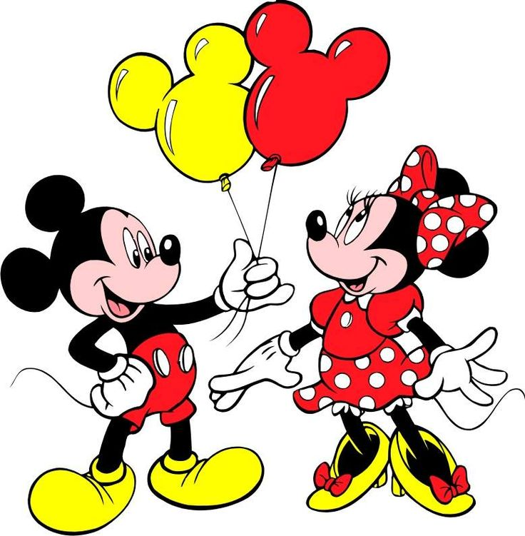 Mickey And Minnie Mouse Clip Art.