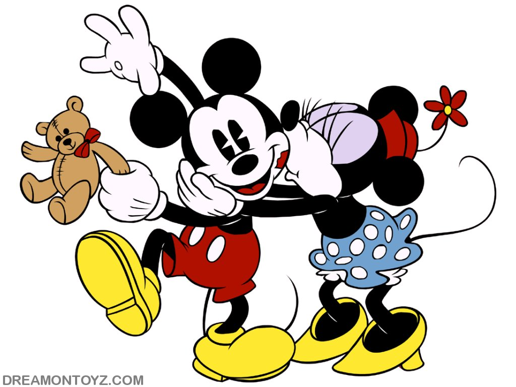 Mickey And Minnie Mouse Clipart.