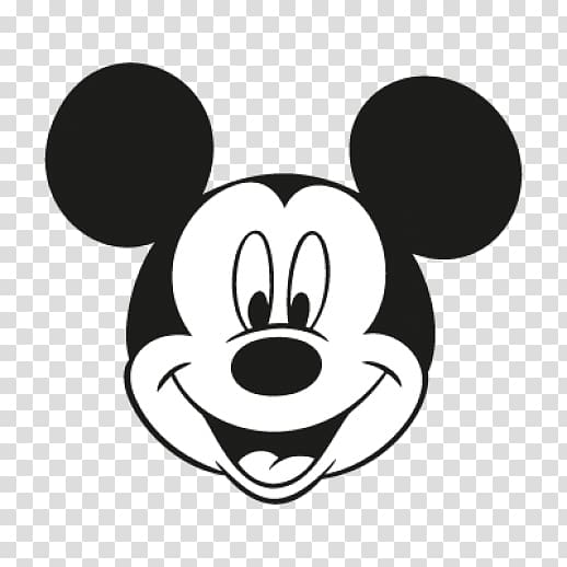 Mickey Mouse head illustration, Mickey Mouse Minnie Mouse.