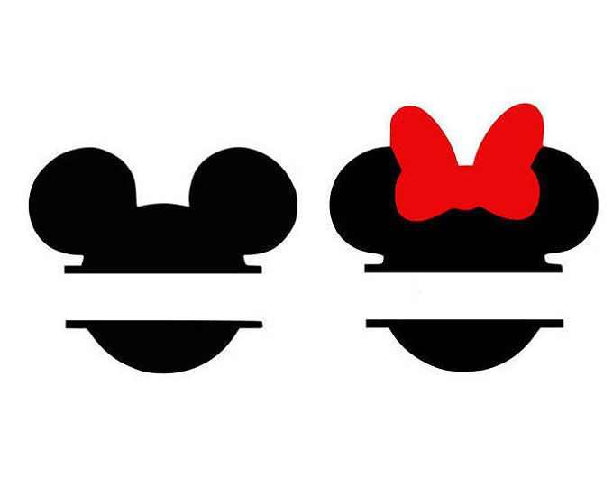 Mickey And Minnie Silhouette Clip Art at GetDrawings.com.