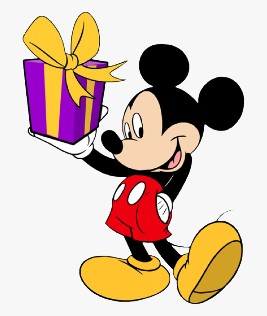 Mickey Birthday Minnie Donald Goofy Duck Mouse Clipart.