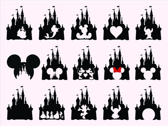 Disney Castle SVG.