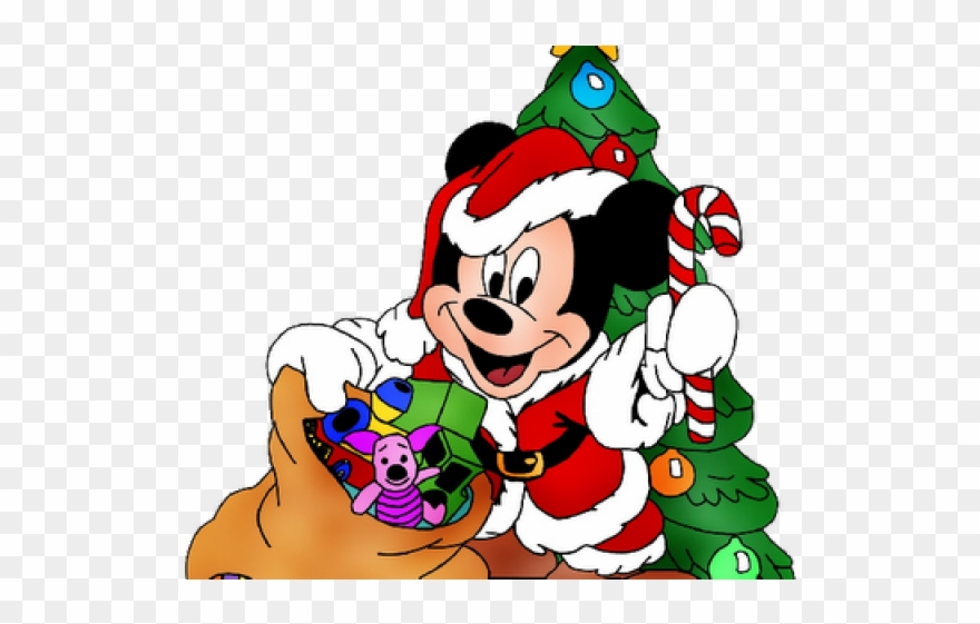 Merry Christmas Clipart Mickey Mouse.