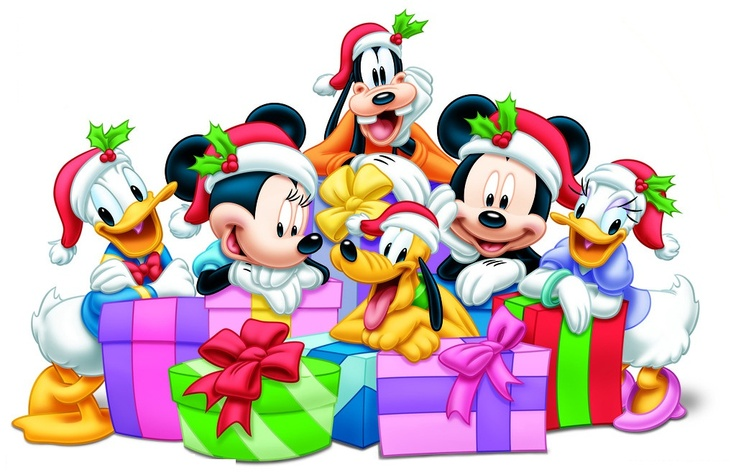 Mickey and minnie christmas clipart PNG and cliparts for.