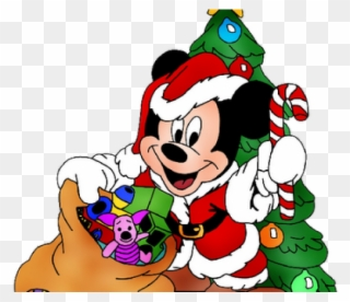 Free PNG Mickey Mouse Christmas Clip Art Download.