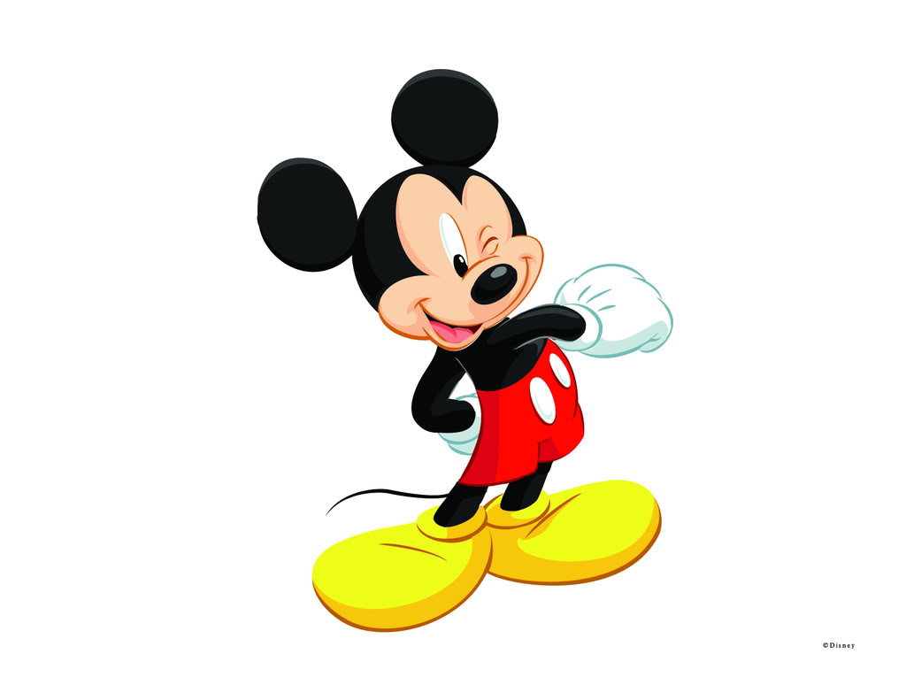 Mickey Mouse Balloons Clipart.
