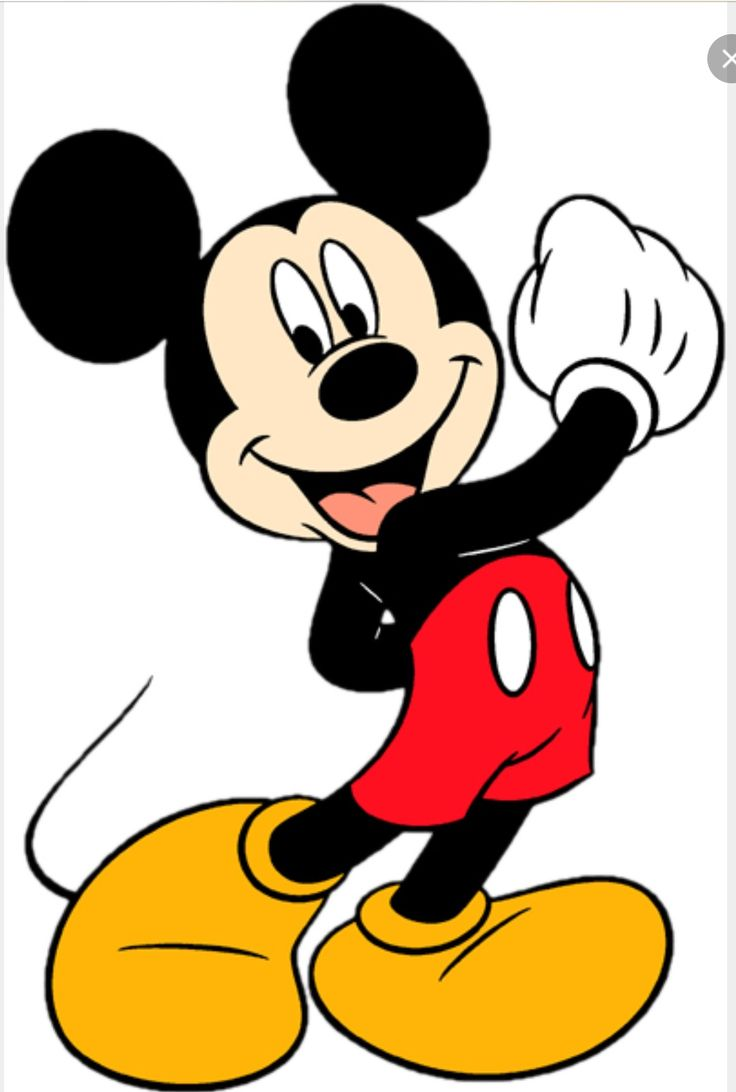 Picture Of Mickey Mouse.