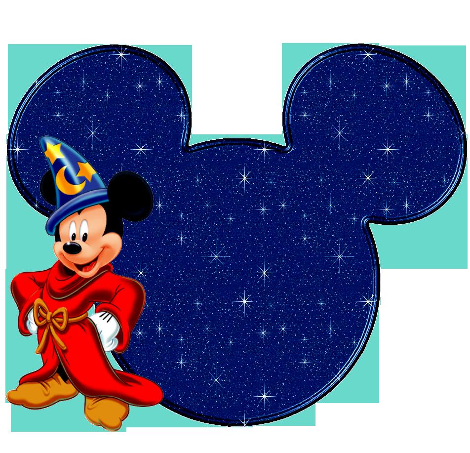 Disney clipart mickey ears sorcerers hat.