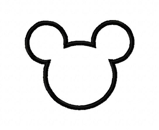 Free Mickey Mouse Outline, Download Free Clip Art, Free Clip.