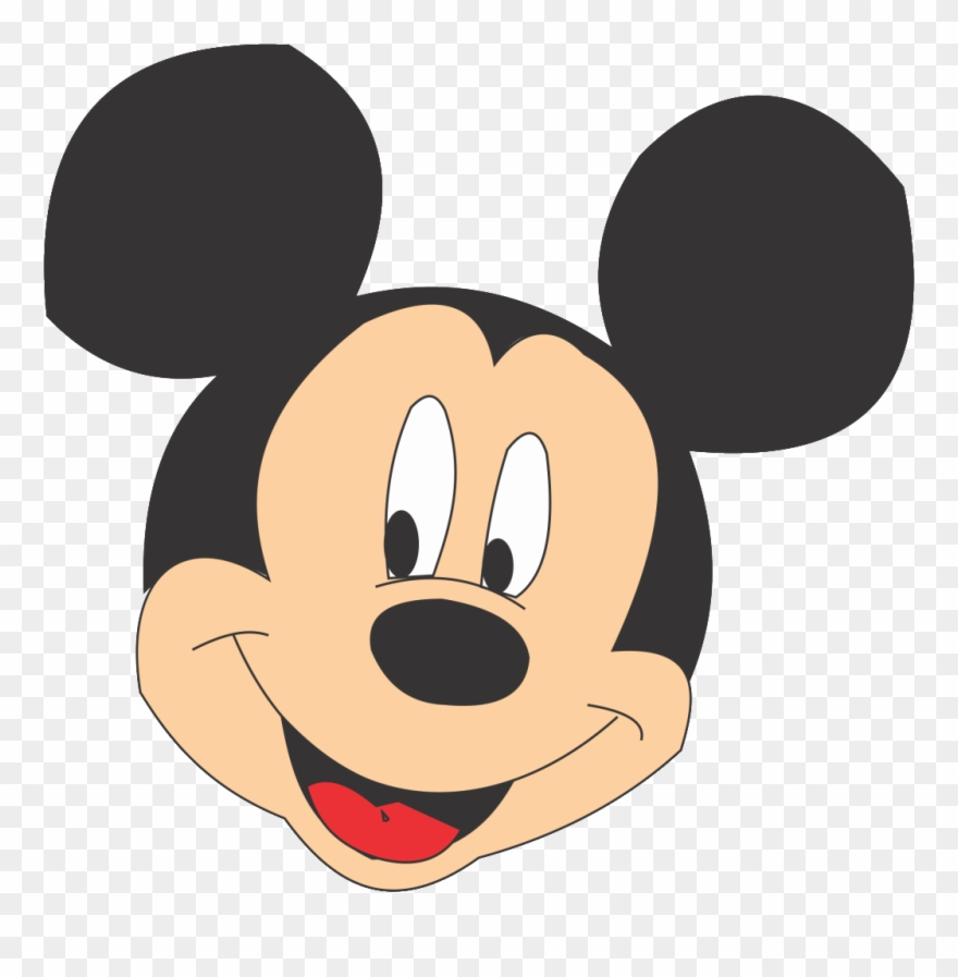 Compartir Twittear Mickey Mouse Face Png.
