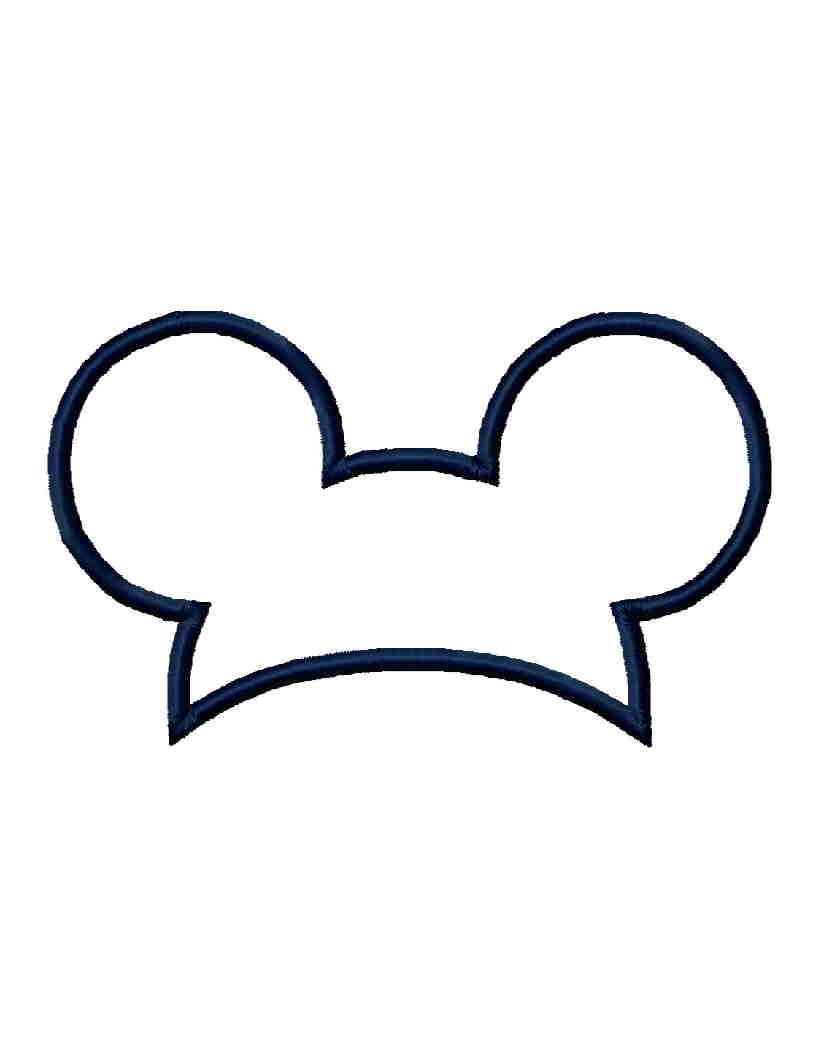 Mickey mouse hat clipart » Clipart Portal.
