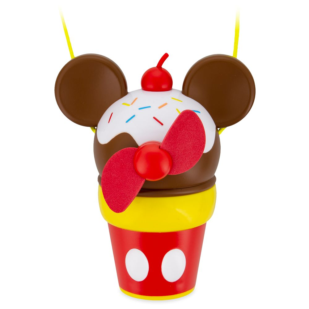 Mickey Mouse Ice Cream Cone Cooling Fan.
