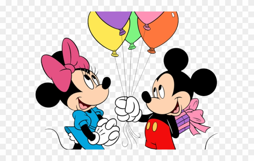 Mickey Mouse Clipart Ballon.