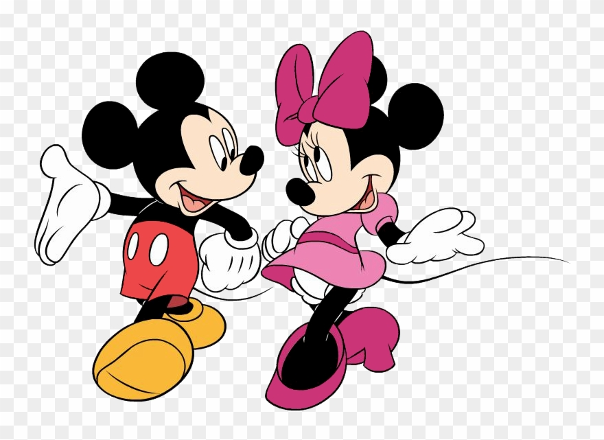 Mickey And Minnie Mouse Clipart Clipart Panda Free.