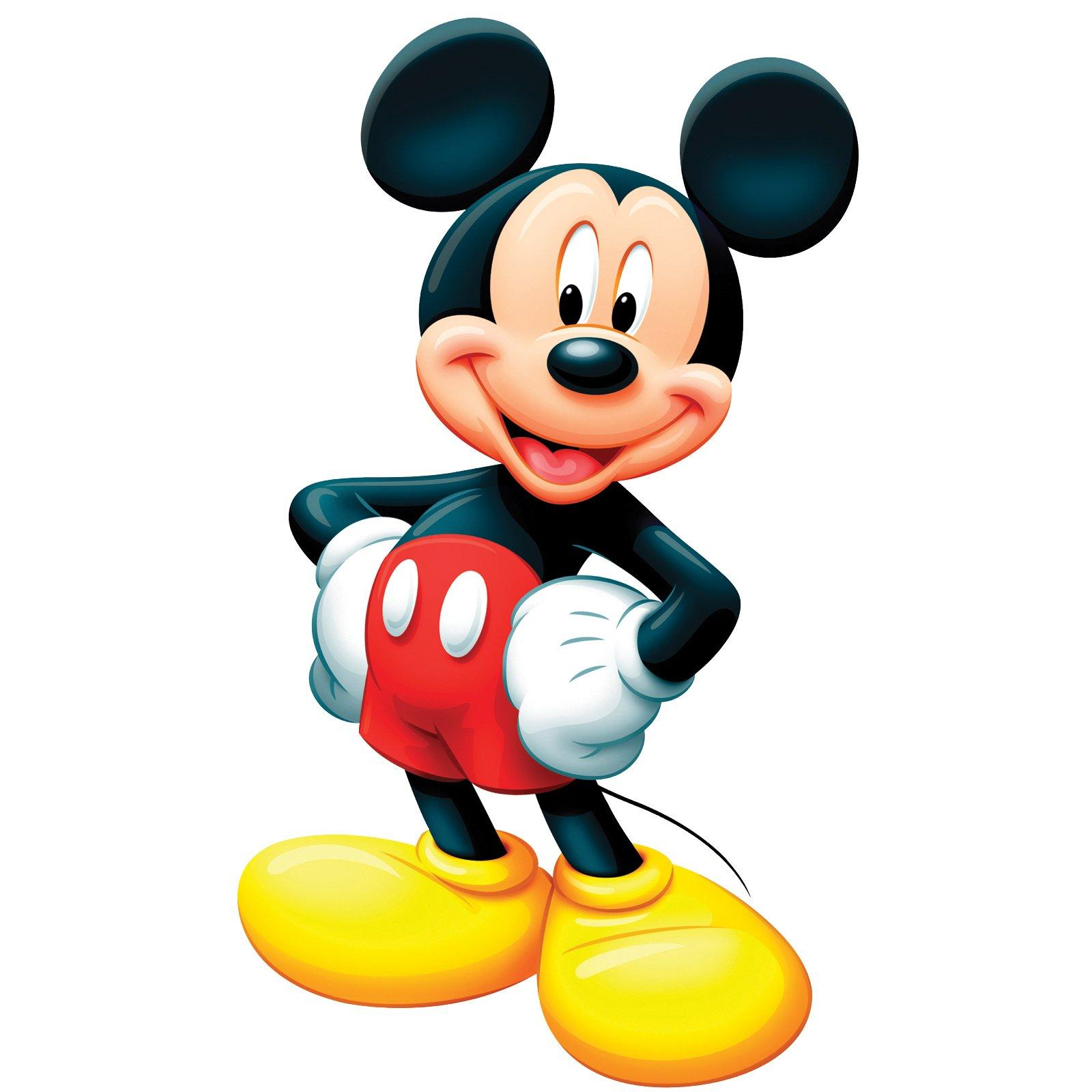 Baby Mickey Mouse 1st Birthday Clip Art.