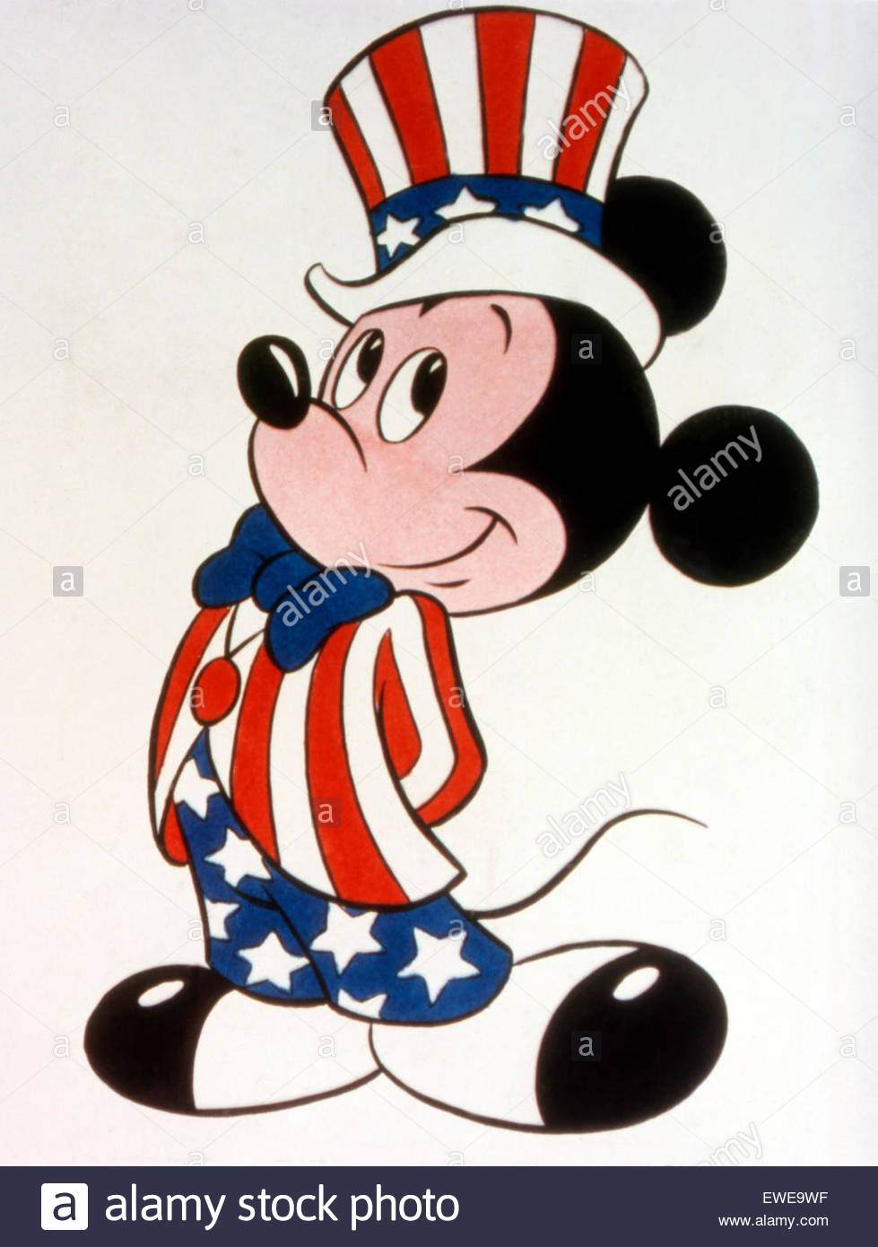 Fourth of July Mickey Mouse Stock Photo: 84522971.