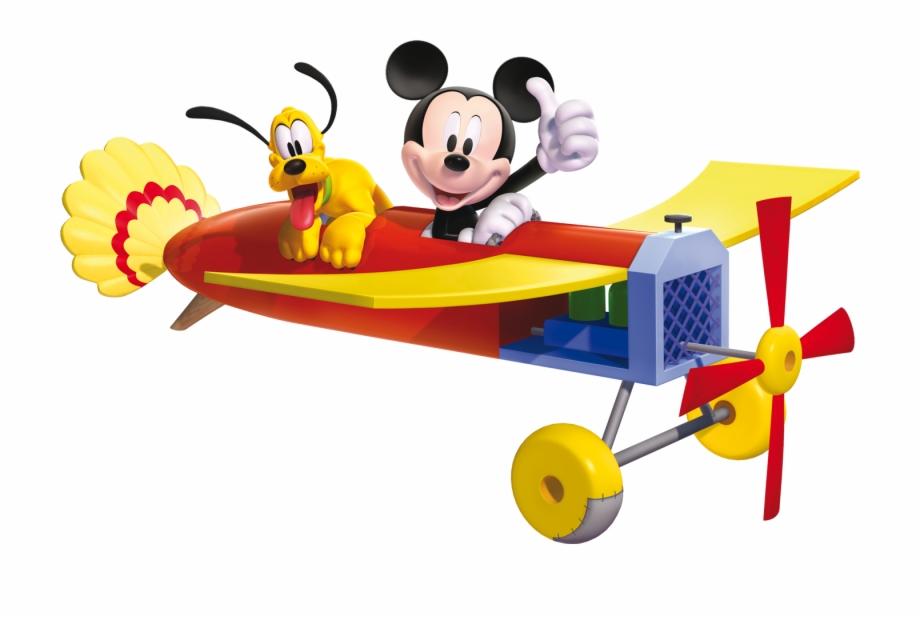Plane Svg Mickey.