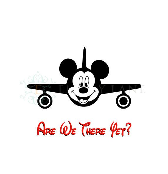 Mickey Mouse Plane Are We There Yet Printable by.