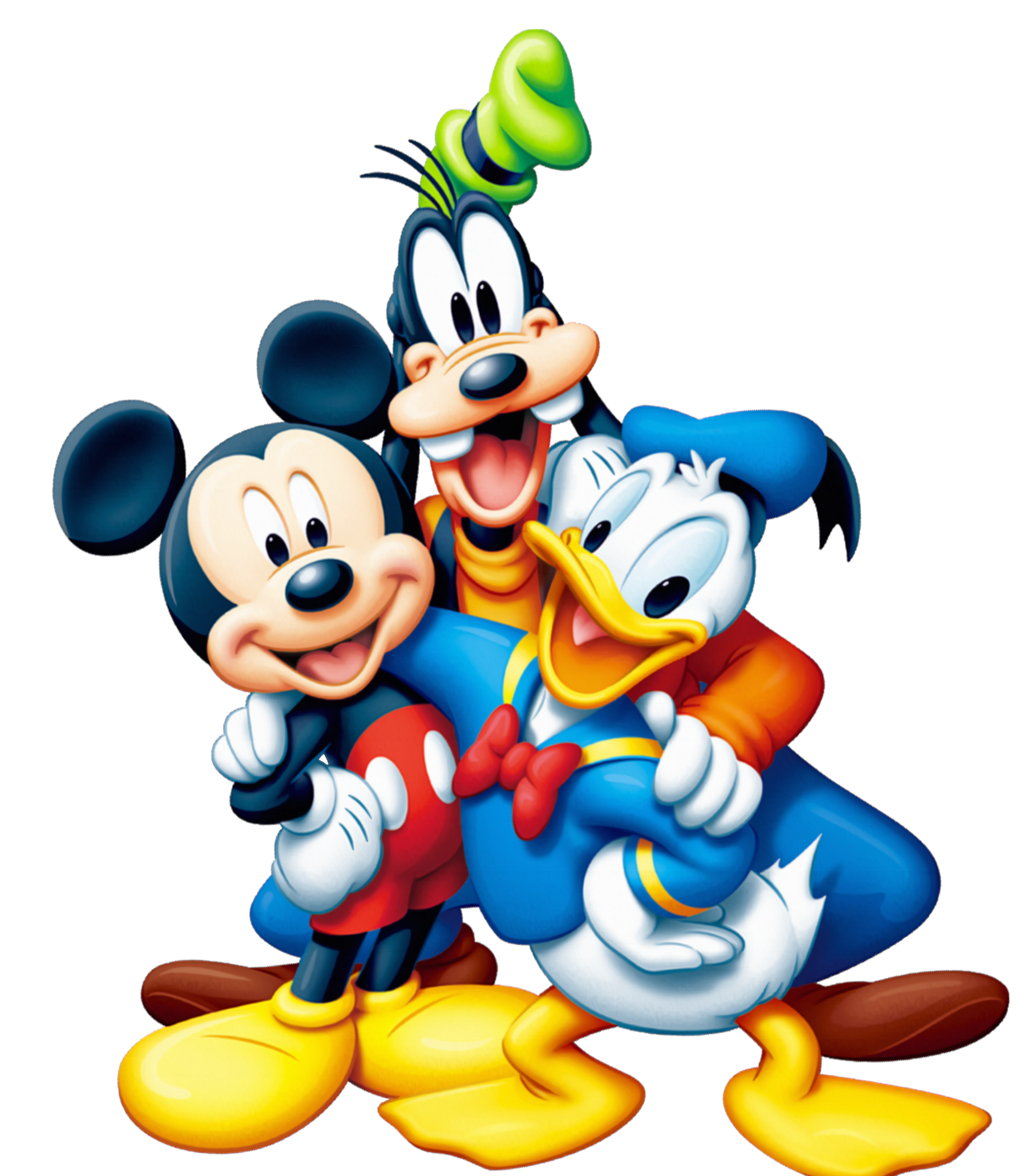 Mickey Mouse and Friends PNG Clipart.