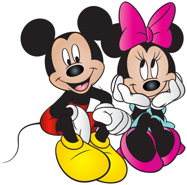 Mickey Mouse And Minnie Mouse Clipart.