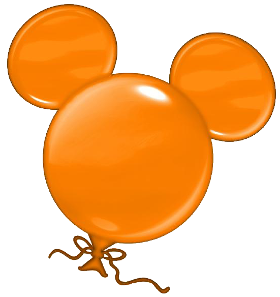 Mickey Mouse Balloon Clipart.