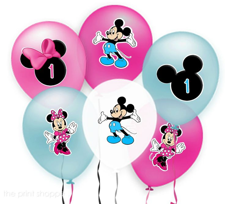 Mickey Mouse Balloons Clipart#1897610.