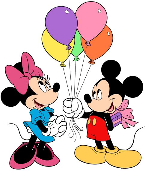 Disney Birthday/Party Clip Art Images.