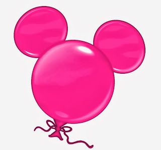 Mickey Mouse Balloon Clipart.