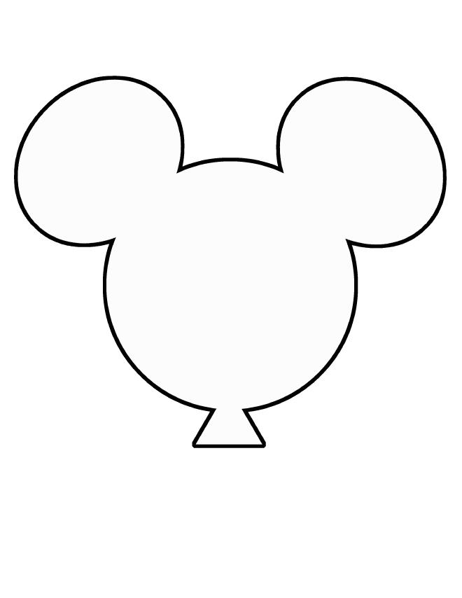 mickey mouse balloon clipart #14