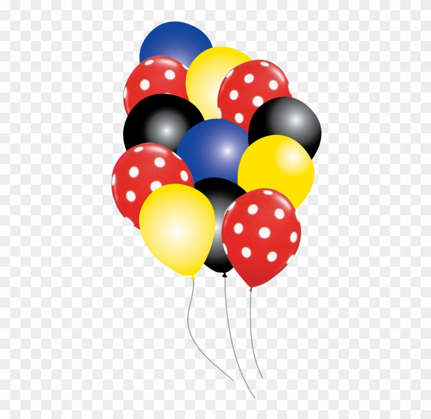 Mickey Mouse Balloons Png.