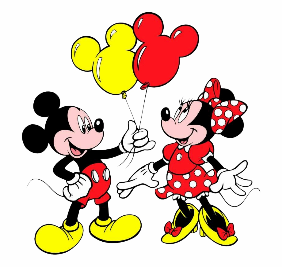 Mickey & Minnie Mouse Balloons.