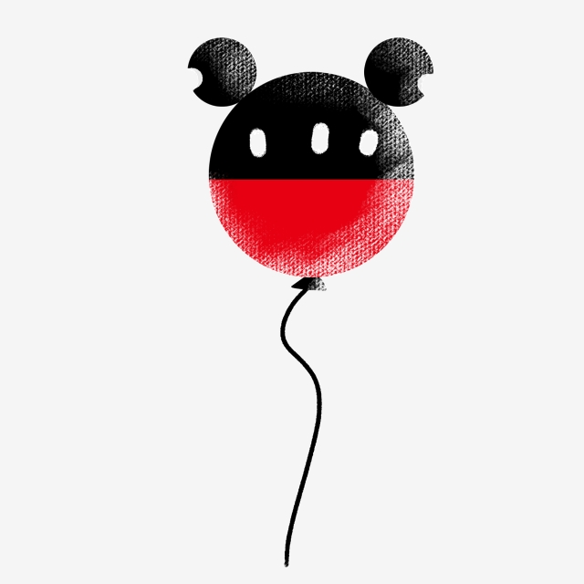Children S Day Balloon Png Picture, Balloon, Mickey Mouse.