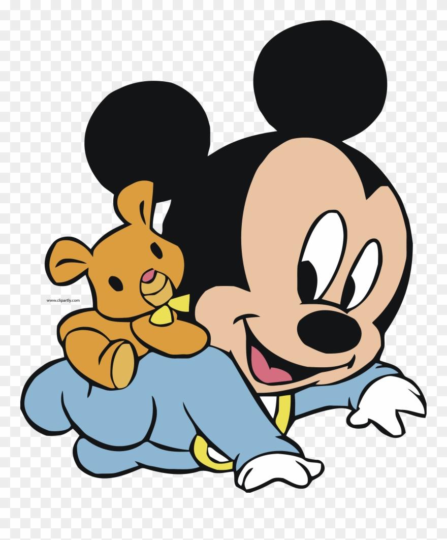 Baby Clipart Mickey.