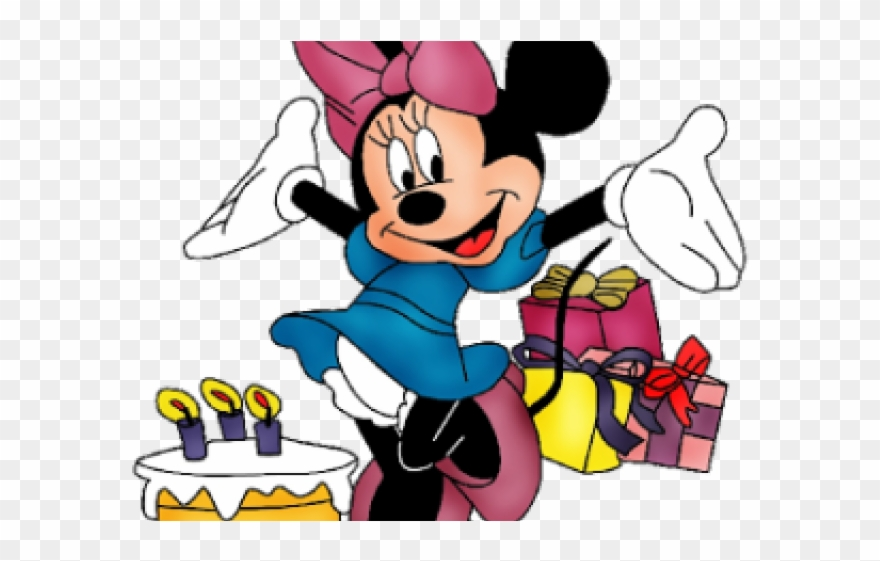 Minnie Mouse Clipart 1st Birthday.