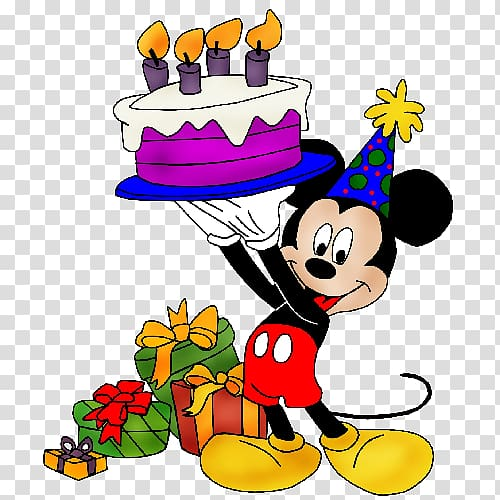 Minnie Mouse holding cake illustration, Mickey Mouse.