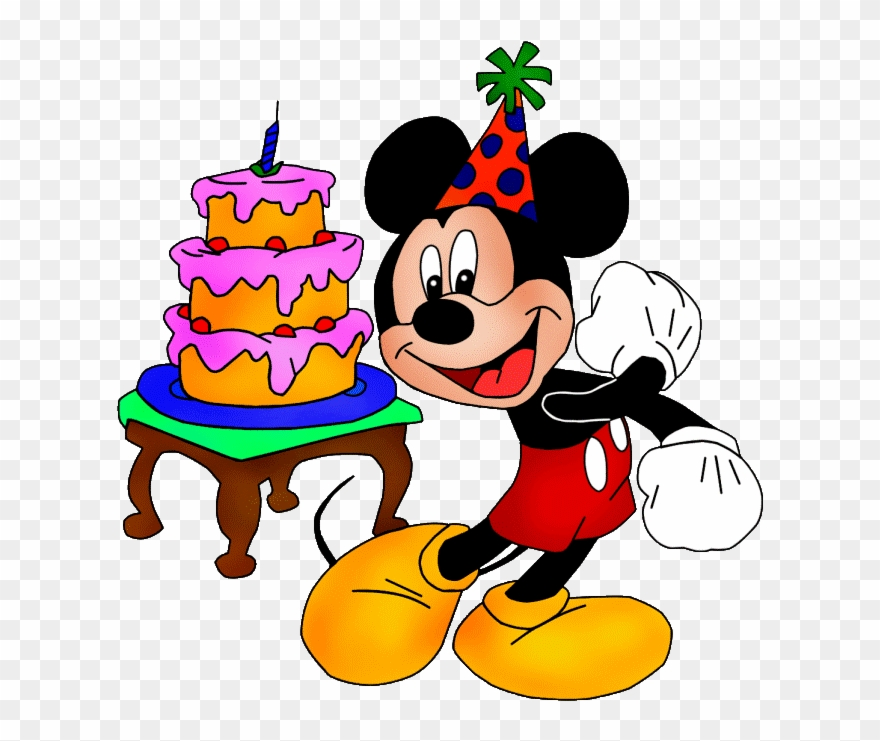 Mickey Mouse Birthday Png Clipart Mickey Mouse Minnie.