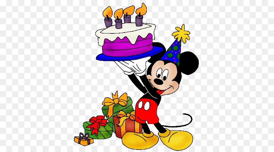 Mickey Mouse Birthday Png & Free Mickey Mouse Birthday.png.