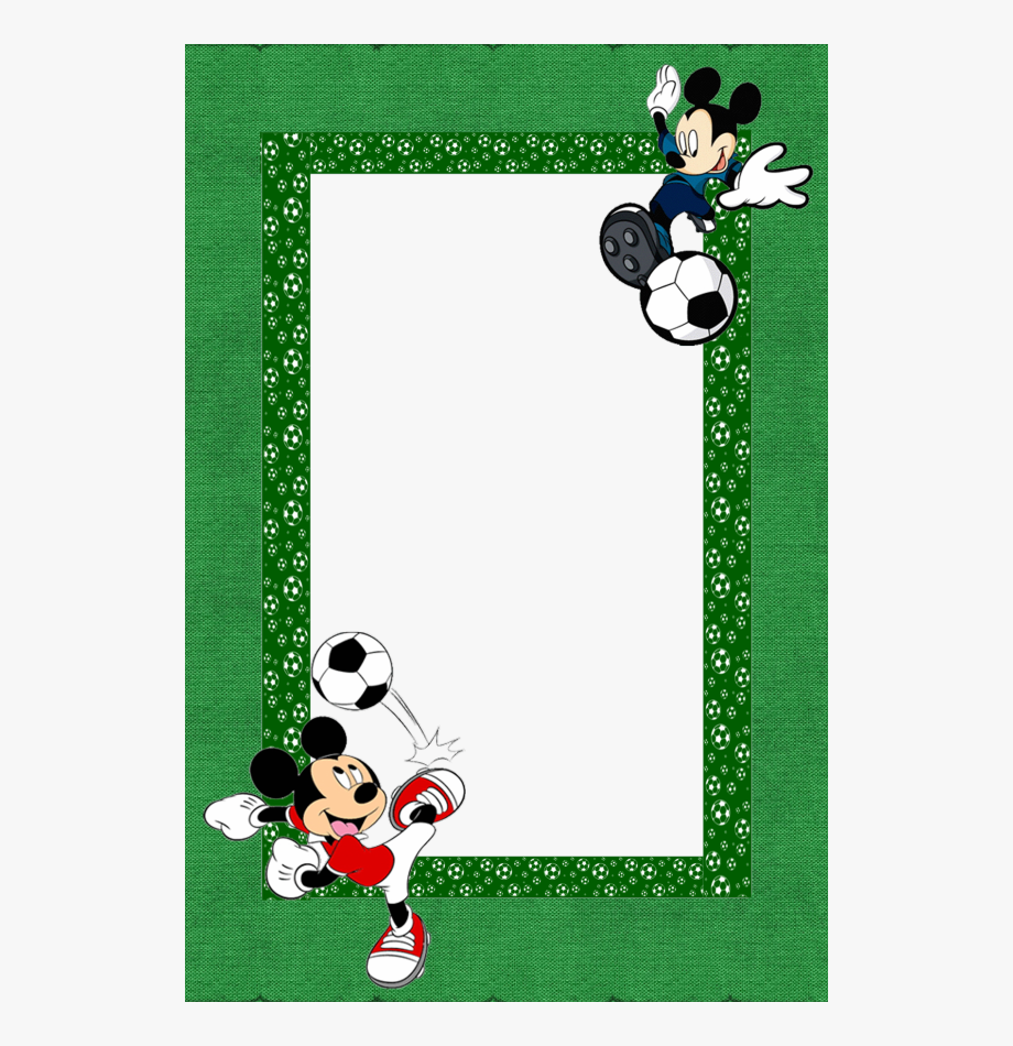 Mickey Mouse Borders For Paper, Borders And Frames,.