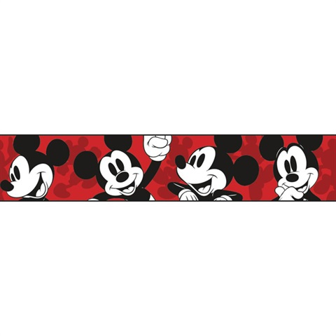 Disney Classic Mickey Mouse Border.