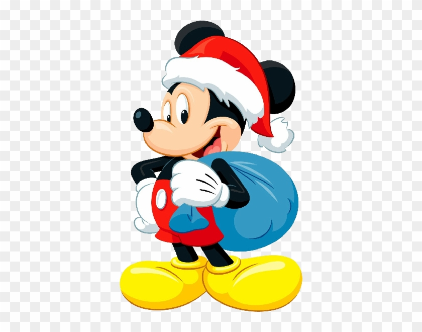 Mickey Mouse Xmas Clip Art Images.