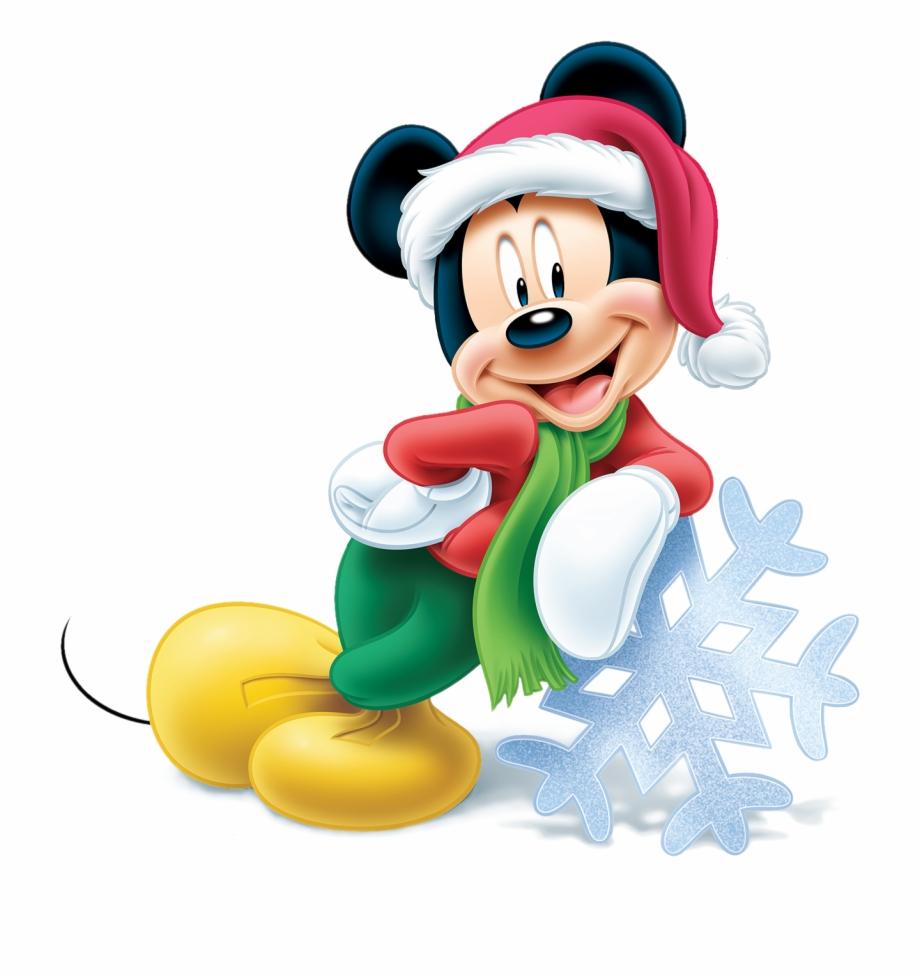 Mickey Christmas Png.