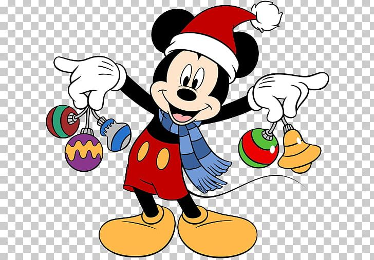 Mickey Mouse Minnie Mouse Pluto Daisy Duck Christmas PNG.