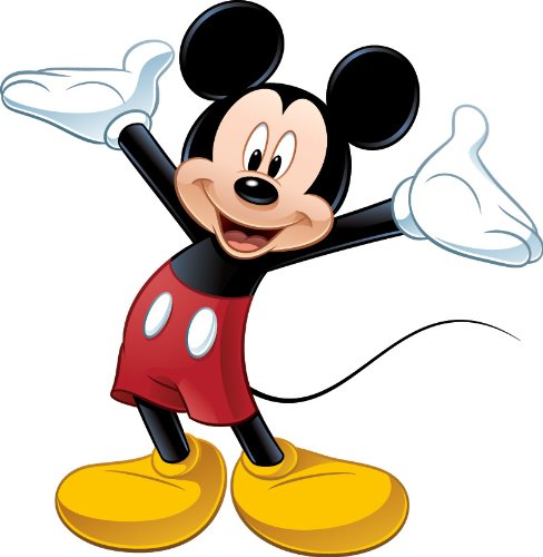 Mickey Mouse Face Clip Art.