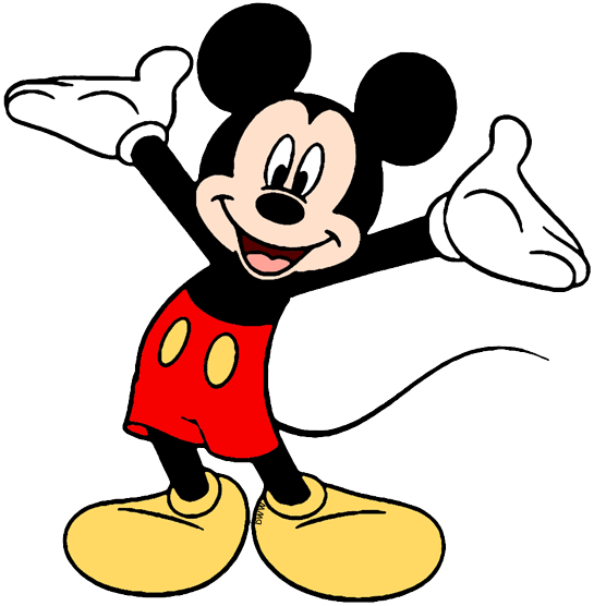 9624 Mickey Mouse free clipart.