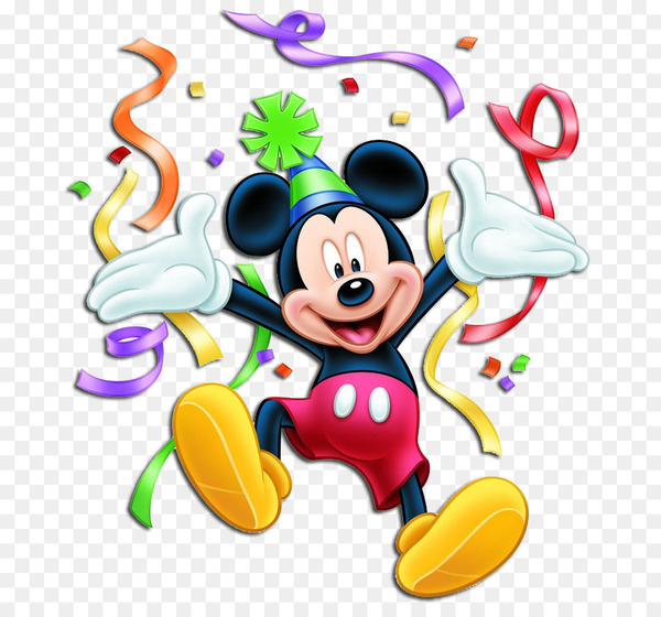 Minnie Mouse Mickey Mouse Donald Duck Birthday Clip art.