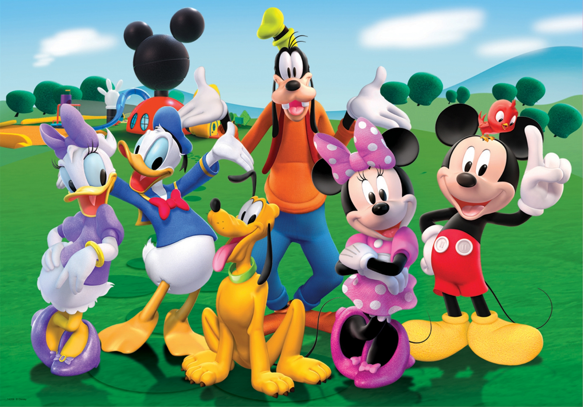 Mickey Mouse Clubhouse Clipart Group with 70+ items.