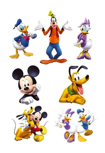 mickey mouse clubhouse characters.