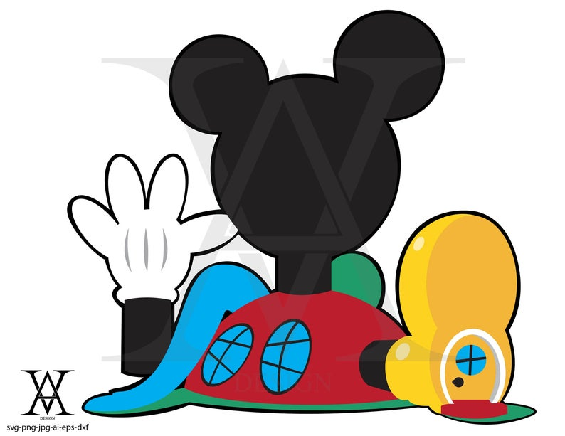 Mickey Mouse Clubhouse, clipart, vector. INSTANT DOWNLOAD,  svg.