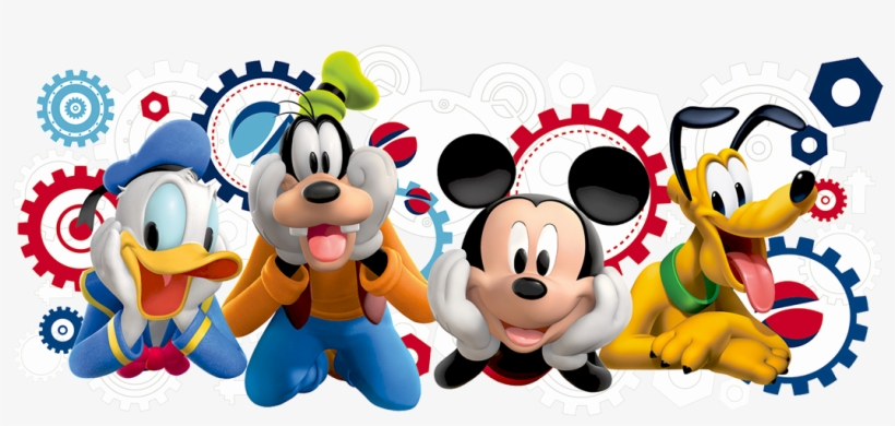 Mickey Mouse Vector Free Transparent Background Png.