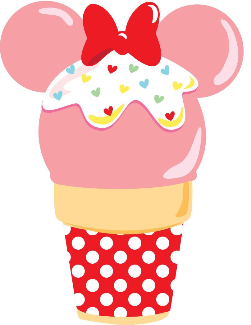 Mickey Mouse Cupcake Clipart Clipground